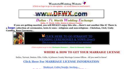 Dallas - Ft. Worth Wedding Exchange