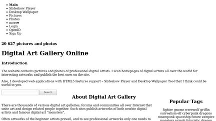 Digital Art Gallery Online