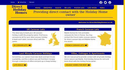 DirectHolidayHomes.co.uk