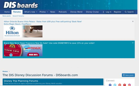 The DIS Disney Discussion Forums