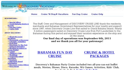 Discoverycruiseline.com