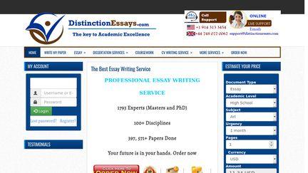 Distinction Essays