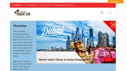 Dubai Desert Safari UAE