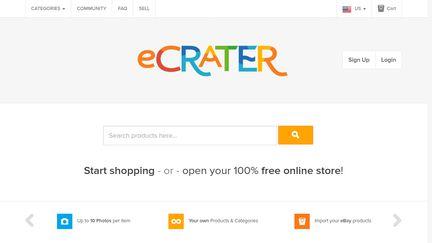E-crater
