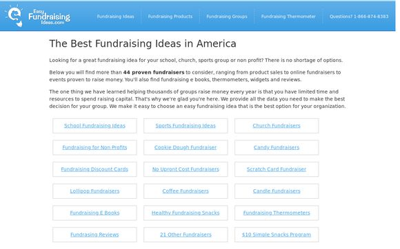 Easy-fundraising-ideas.com