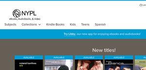 Nypl ebooks