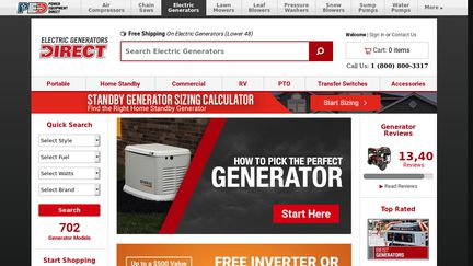 ElectricGeneratorsDirect