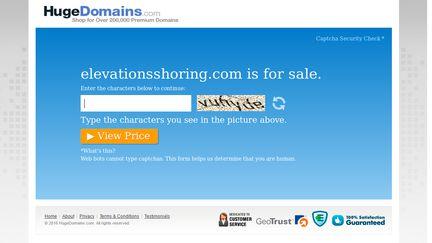 Elevationsshoring.com