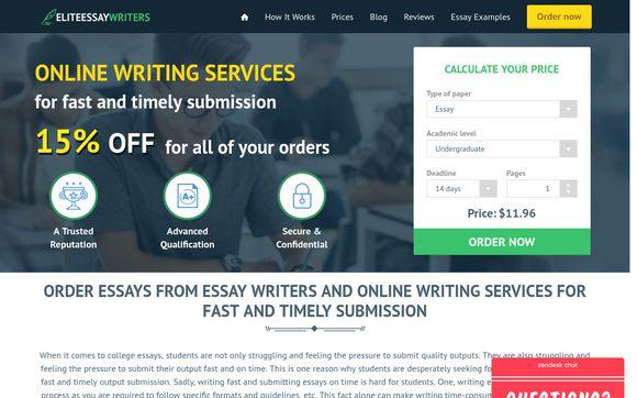 Elitessay Writers