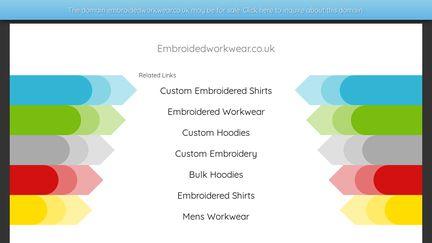 Embroidedworkwear.co.uk