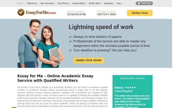 EssayForMe.com