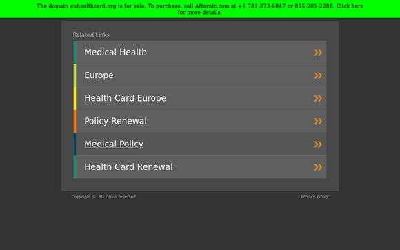 Euhealthcard.org