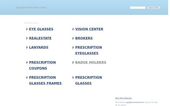 Eyeglassbroker