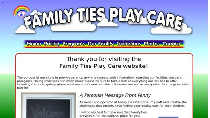 Family Ties Play Care