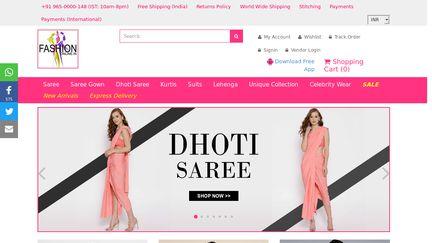 Fashion Online – Designer Salwar Kameez & Sarees