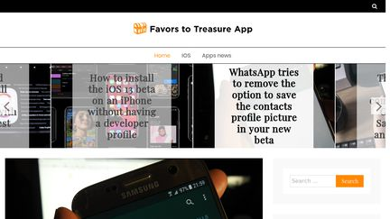 Favors To Treasure