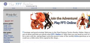 Final Fantasy Tactics Realm