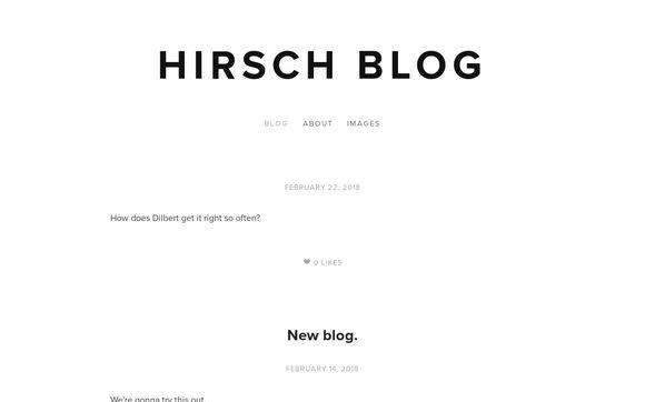 Hirsch Blog