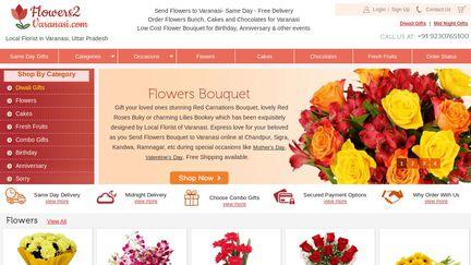 Flowers2Varanasi