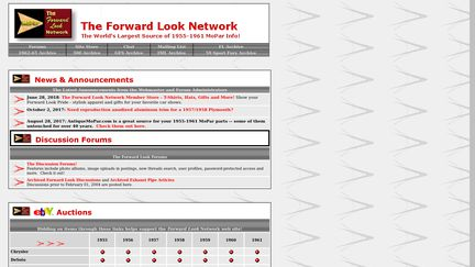 The Forward Look Network