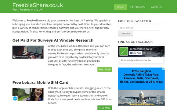 FreebieShare.co.uk