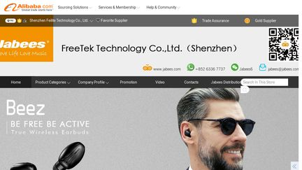 Freetek Technology Jabees Bluetooth
