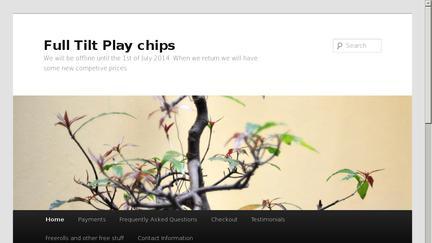 Fulltiltplaychips.com