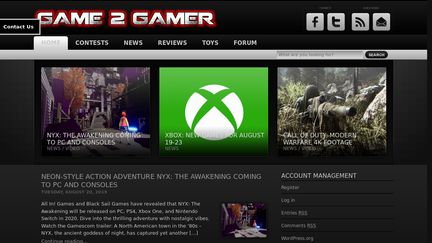 Game 2 Gamer