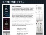 Game Audio 101