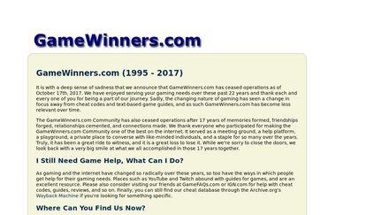 GameWinners.com