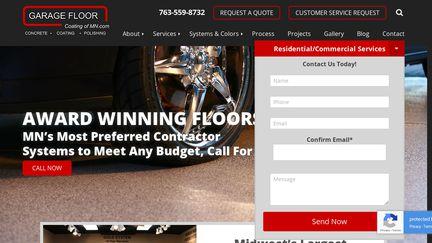 Garage Floor Coating Of Mn.Com