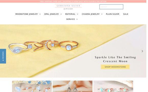 Gemstone Silver Jewelry
