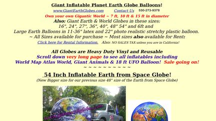 GiantEarthGlobes