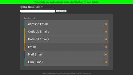 Giga-mails