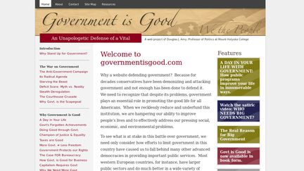 Government is Good