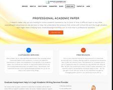 Graduate Assignment Help