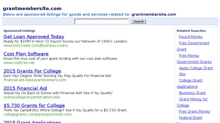 Grantmembersite.com