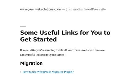 Greenwebsolutions.co.in