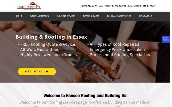Hansonroofing.co.uk