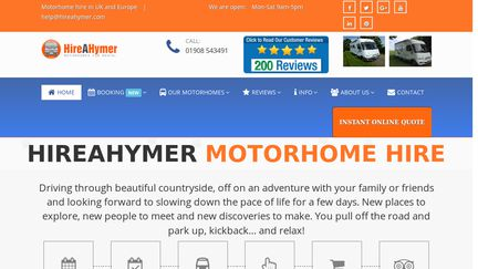 Hire A Hymer