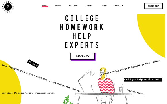 College Homework Help Experts