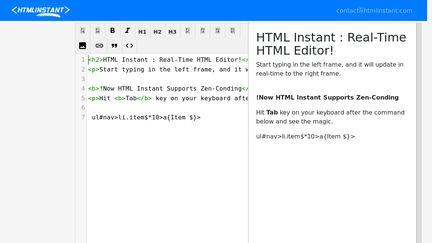 HTMLInstant