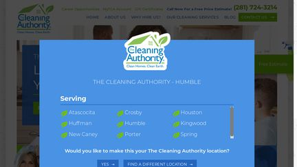 The Cleaning Authority - Humble, TX