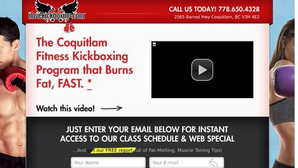 Coquitlam BC Kickboxing Classes