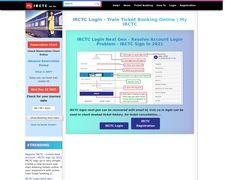 IRCTC Login For IRCTC Next Generation ETicketing