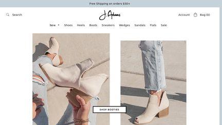 J Adams Shoes