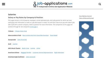 Jobs-salary