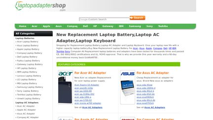LaptopAdapterShop
