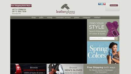 Leather Gloves Online