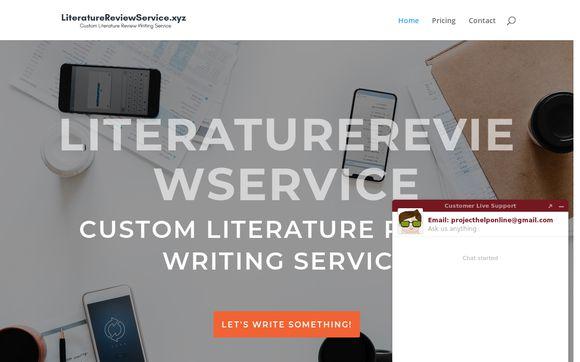 Literaturereviewservice.xyz